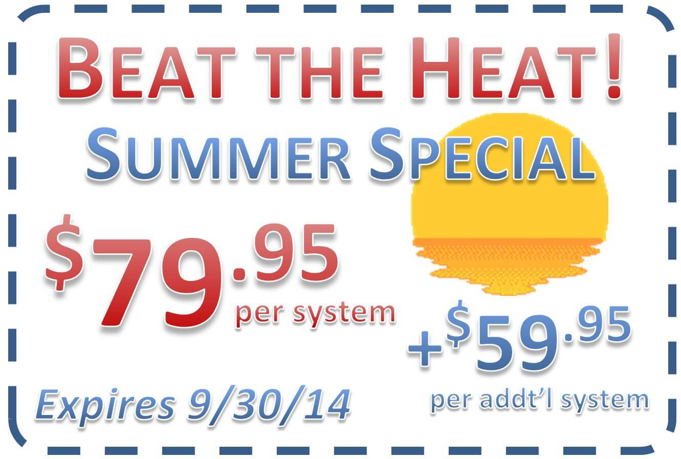 Air Conditioning Coupon