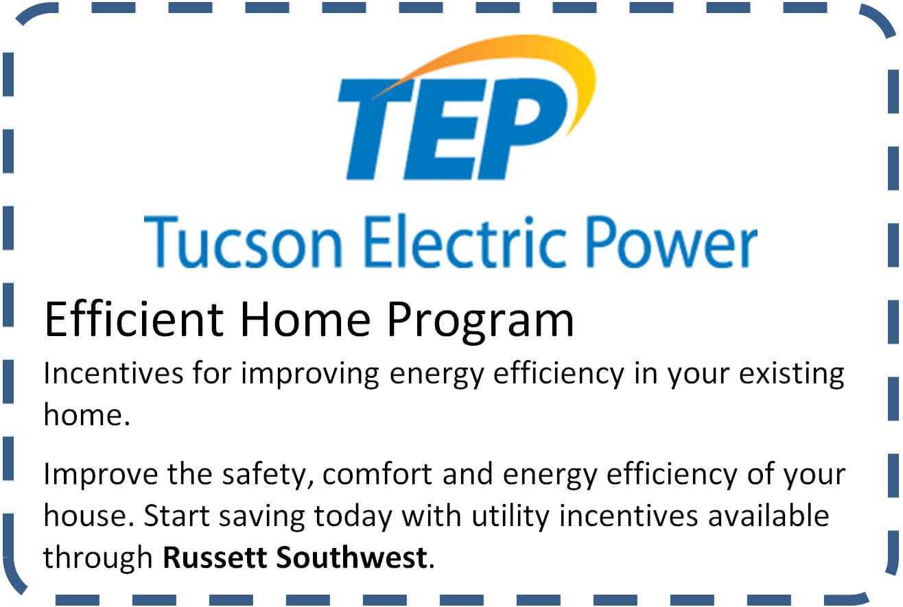 Tucson Electric Power Efficient Home Program